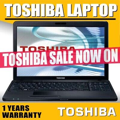 Toshiba Sale Now On Fast Cheap Laptops Windows 10 Full 1 Years Warranty Wi-Fi
