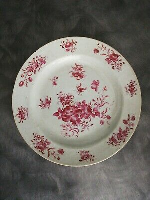 Ancienne assiette chinoise Compagnie Des Indes Xviiie , famille rose ?