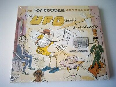 Ry Cooder - The Ry Cooder Anthology: The UFO Has Landed 2 CD SET NEW AND SEALED.
