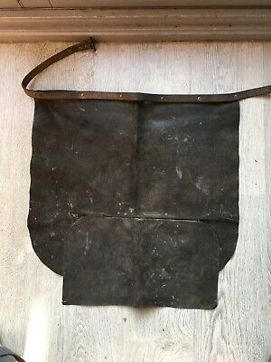 Vintage Blacksmiths Leather Apron