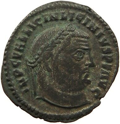 ROME EMPIRE LICINIUS FOLLIS IOVI CONSERVATORI OFF-CENTER #t65   495