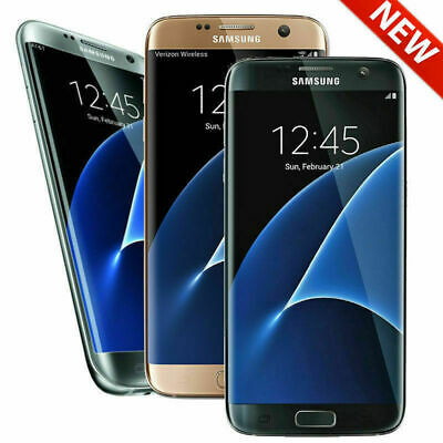 Samsung Galaxy S7 Edge G935F 32GB (Unlocked) Smartphone Black Gold Silver - UK
