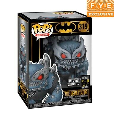Funko POP The Devastator FYE Exclusive Batman W/Protector