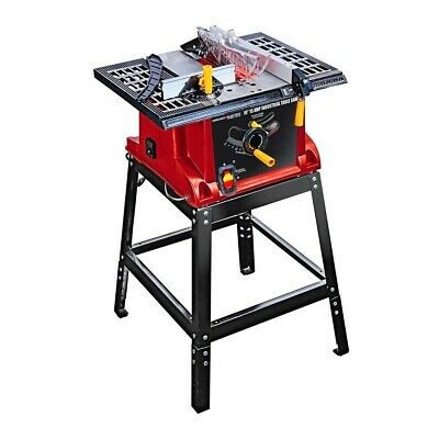 Best 10in Industrial Bench Top Portable Table Saw Woodworking Power Miter Tool