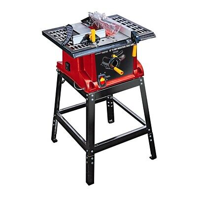 Best 10in Table Saw Industrial Bench Top Portable Woodworking Power Miter Tool