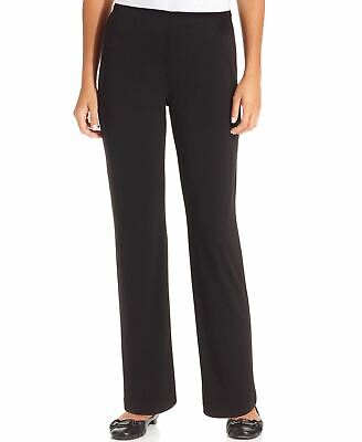 NY Collection Petite Pants, Pull-On Straight New Navy PM