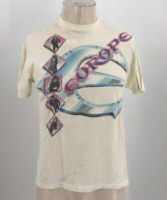 Vintage  Europe Out Of This World U.s Summer Tour 88 - T-Shirt ~ Small Medium?