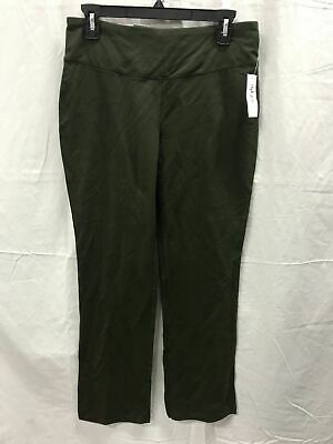 Style Co Petite Boot-Cut Yoga Pants Evening Olive PM