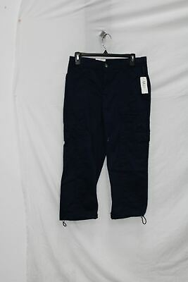 Style & Co. Cargo Capri Pants (Industrial Blue, 6)
