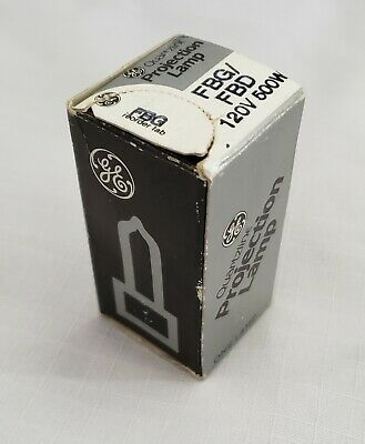 GE Projection Lamp FBG FBD 120V 500W Projector Bulb NOS