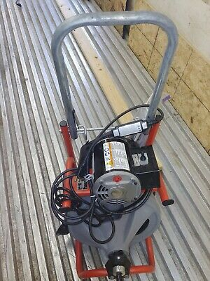 Ridgid K-400-T2 120-Volt Drum Machine Integral Wound 50 ft Cable