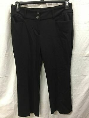 Alfani Straight Leg Trouser Black 6Ps -New Without Tag 3857