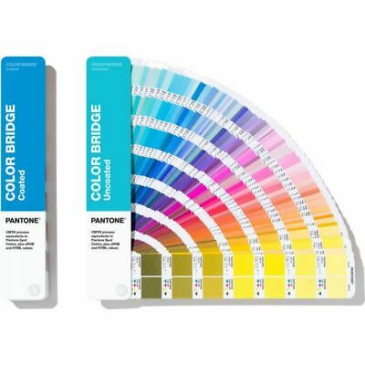 Pantone Color Bridge Guides Coated & Uncoated GP6102A *Color Reference Guide*