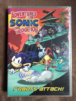 Adventures Of Sonic The Hedgehog - Robots Attack (DVD, 2009) NEW Sealed