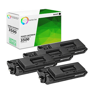 NYT Compatible High Yield Toner Cartridge Replacement for Xerox 106R01149 for Xerox Phaser 3500 Black, 4-Pack