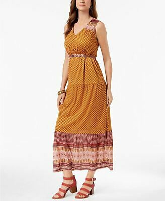 Style Co Petite Printed Maxi Dress Jubilant Jacquard L