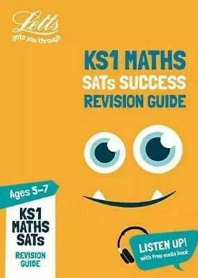 KS1 Maths SATs Success Revision Guide: Tests by Letts KS1 Age 6-7