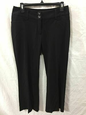 Alfani Wide Leg Trouser Black 6Ps- New Without Tag 4625