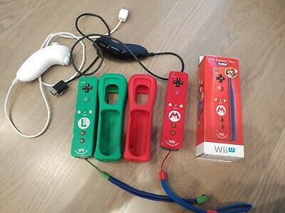 Wii Remote Plus: Wii Motion Plus 2 Controllers and 2 Nunchuck's and 2 batteries