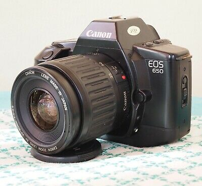 Canon EOS 650 BODY. Very good working condition with case and manual.