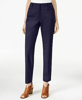 Style Co Petite Slim-Fit Cropped Pants Industrial Blue 2P
