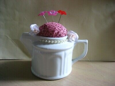 Pin Cushion - Hand Made -Milk Jug