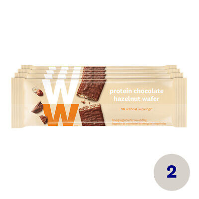 WW Weight Watchers Protein Chocolate Hazelnut Wafer Protein Schoko Haselnuss Rie