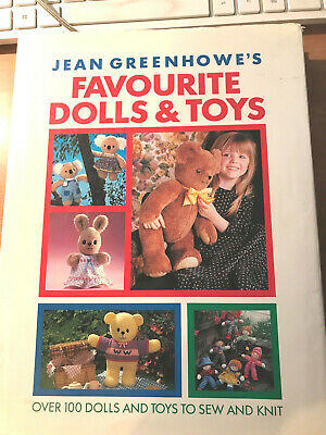 craft book - JEAN GREENHOWE'S FAVOURITE DOLLS & TOYS - over 100 toys to make