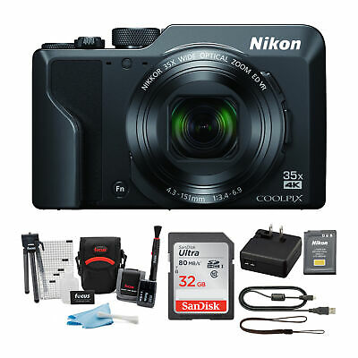 Nikon COOLPIX A1000 Digital Camera with 32GB Card and Accessory Bundle