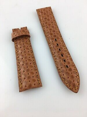 Old Stock Watch Strap Eberhard 20MM Watch for Man Woman Colour Brown Bright