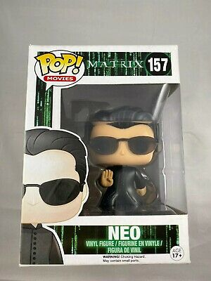 Funko Pop Movies Keanu Reeves The Matrix Neo #157 Vaulted Retired