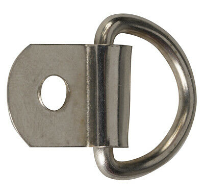 """5/8"""" D-Ring with Attaching Tab"""