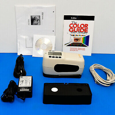 X-Rite SP60 Portable Sphere Spectrophotometer Lab values 4 print fabric physical