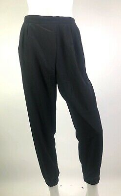 Topshop Pleated Front Jogger Style Pull On Pants Black Size US 2 UK 6