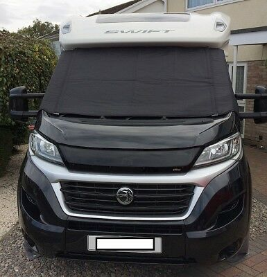 Polar BLACK Thermal Screen Cover - Fiat Ducato / P.Boxer - Standard