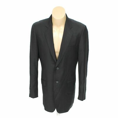 "A.Harary Men's Blazer size 41"" Chest,  black, grey,  wool"