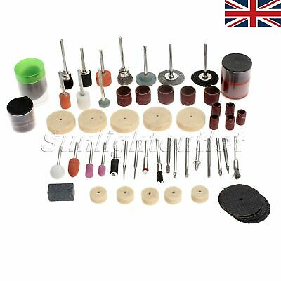 100pc Grinding Polishing Cutting Accessories Set For Grinder Rotary Tool FAST