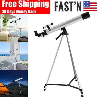 Telescope High Magnification Astronomical Refractive Eyepieces Tripod Space Scop