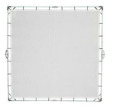Extra Large Sun Scrim Diffuser 8x8ft Overhead Butterfly Frame Sunbounce Screen
