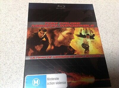 Tom Cruise Mission Impossible Ultimate Mission Collection Boxset Blu-Ray