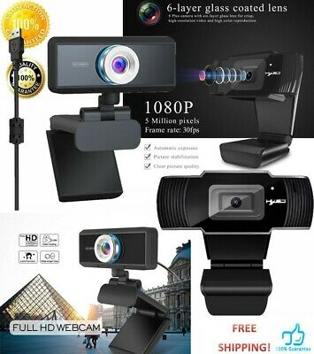 New USB HD Webcam Camera Web Cam With Mic For Computer PC Laptop Desktop