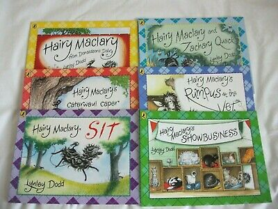 Hairy Maclary & friends 6 Books  . Lynley Dodd