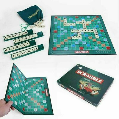 Original Scrabble Board Game Family Kids Adults Educational Toy Puzzle Game Hot#