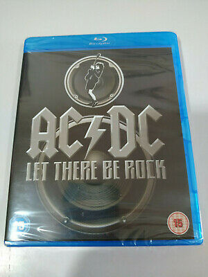 AC/DC ACDC Let there Be Rock Blu-ray 13 Classic Songs + Extras Nuevo - AM