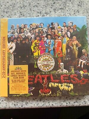 Beatles Sgt Peppers Lonely Hearts Club Band 2 Cd Anniversary Edition