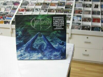 Obituary CD Europa Frozen in Time 2005 Limited Digipack