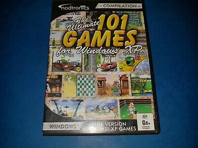 The Ultimate 101 Games For Windows XP PC CD ROM