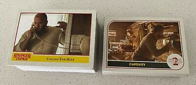 Topps/Netflix Stranger Things Collector Cards lot of 100