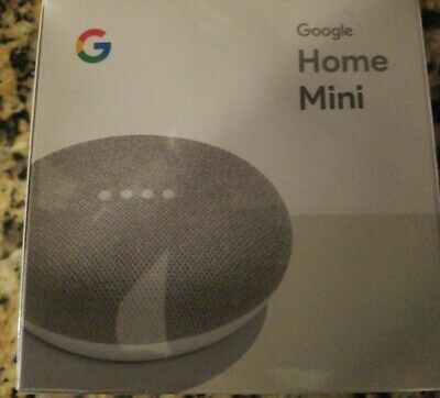 Google Home Mini Smart Speaker  - Chalk- BRAND New- SEALED