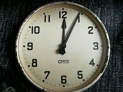 Gents of Leicester Vintage Wall Clock 12' face